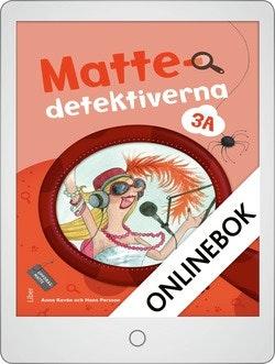 Mattedetektiverna 3A Grundbok Onlinebok Grupplicens 12 mån