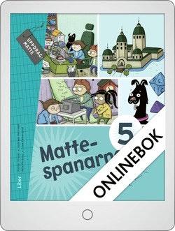 Mattespanarna 5A Grundbok Onlinebok Grupplicens 12 mån