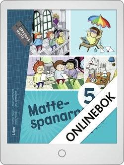 Mattespanarna 5B Grundbok Onlinebok Grupplicens 12 mån