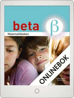Matematikboken Beta Grundbok Onlinebok Grupplicens 12 mån