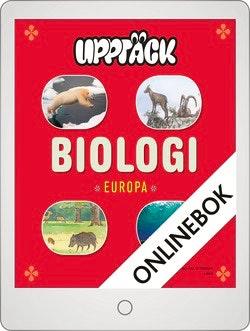 Upptäck Europa Biologi Grundbok Onlinebok Grupplicens 12 mån