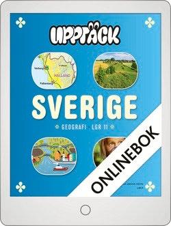 Upptäck Sverige Geografi Grundbok Onlinebok Grupplicens 12 mån