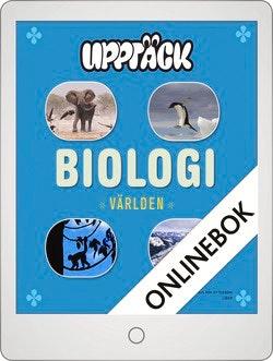 Upptäck Världen Biologi Grundbok Onlinebok Grupplicens 12 mån