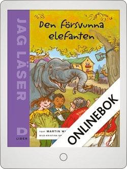 Jag läser D Den försvunna elefanten Onlinebok Grupplicens 12 mån
