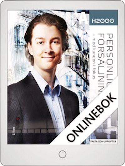 H2000 Personlig försäljning 1 Onlinebok Grupplicens 12 mån