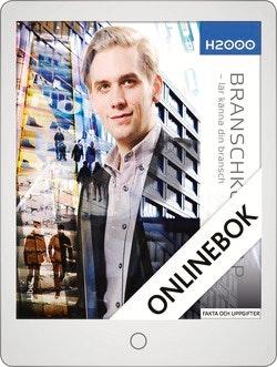 H2000 Branschkunskap inom handel och administration Onlinebok Grupplicens 12 mån