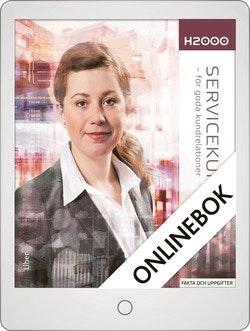 H2000 Servicekunskap Faktabok Onlinebok Grupplicens 12 mån