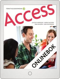 Access Företagsekonomi 2, Faktabok Onlinebok Grupplicens 12 mån