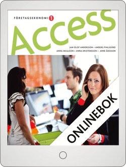 Access Företagsekonomi 1 Faktabok Onlinebok Grupplicens 12 mån