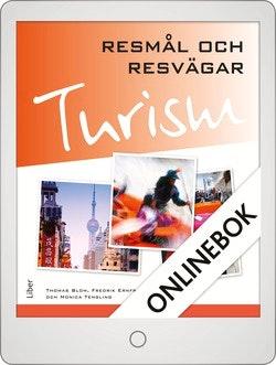 Turism - Resmål och resvägar Onlinebok Grupplicens 12 mån