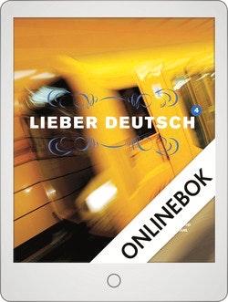 Lieber Deutsch 4 Onlinebok Grupplicens 12 mån