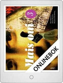 Mais oui 3 allt-i-ett-bok Onlinebok Grupplicens 12 mån