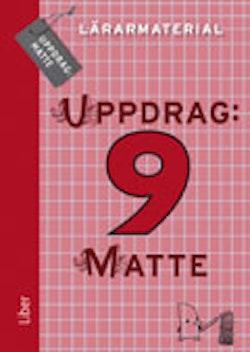 Uppdrag: Matte 9 Lärarmaterial CD