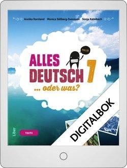 Alles Deutsch 7 Onlinebok Grupplicens 12 mån