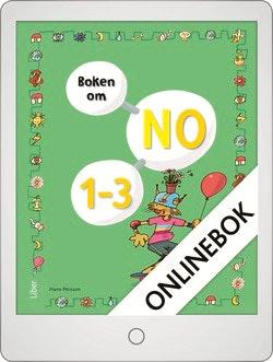 Boken om NO 1-3 Grundbok Onlinebok Grupplicens 12 mån
