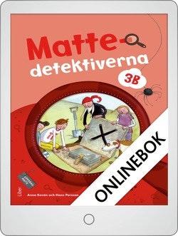 Mattedetektiverna 3B Grundbok Onlinebok Grupplicens 12 mån