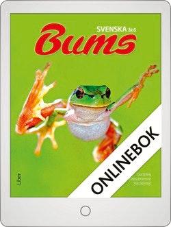 Bums Svenska år 6 Grundbok Onlinebok Grupplicens 12 mån