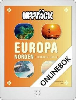 Upptäck Europa Geografi Grundbok Onlinebok Grupplicens 12 mån