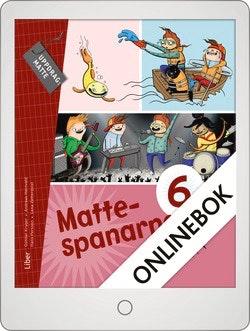Mattespanarna 6B Grundbok Onlinebok Grupplicens 12 mån