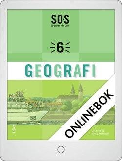SO-serien Geografi 6 Onlinebok Grupplicens 12 mån