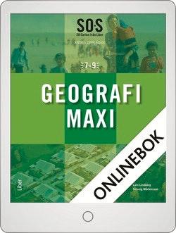 SO-serien Geografi Maxi Onlinebok Grupplicens 12 mån