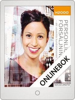 H2000 Personlig försäljning 2 Fakta och uppgifter Onlinebok Grupplicens 12 mån