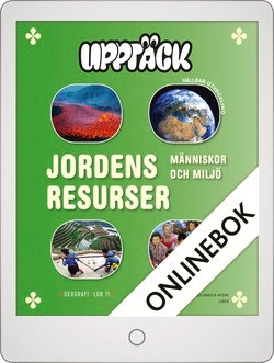 Upptäck Jordens resurser Onlinebok Grupplicens 12 mån