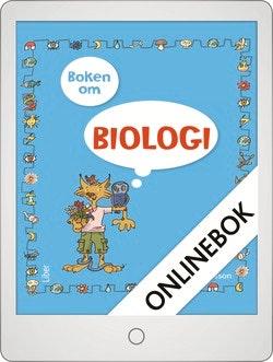Boken om biologi Onlinebok Grupplicens 12 mån