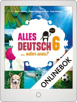 Alles Deutsch 6 Onlinebok Grupplicens 12 mån