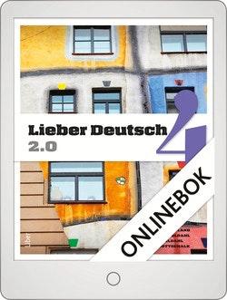 Lieber Deutsch 4 2.0 Onlinebok Grupplicens 12 mån