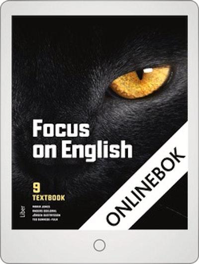 Focus on English 9 Textbook Onlinebok Grupplicens 12 mån