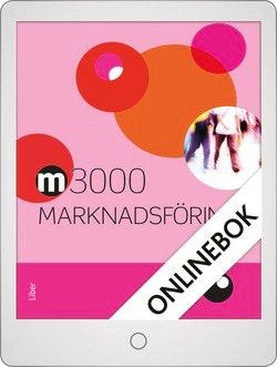 M3000 Marknadsföring Faktabok Onlinebok Grupplicens 12 mån
