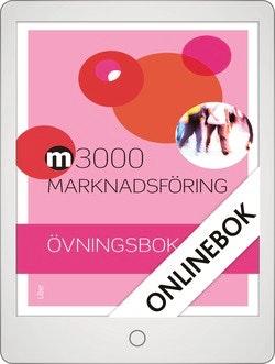 M3000 Marknadsföring Övningsbok Onlinebok Grupplicens 12 mån