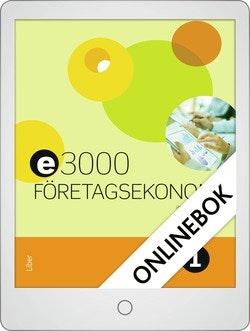E3000 Företagsekonomi 1 Faktabok Onlinebok Grupplicens 12 mån