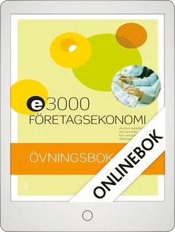 E3000 Företagsekonomi 1 Övningsbok Onlinebok Grupplicens 12 mån