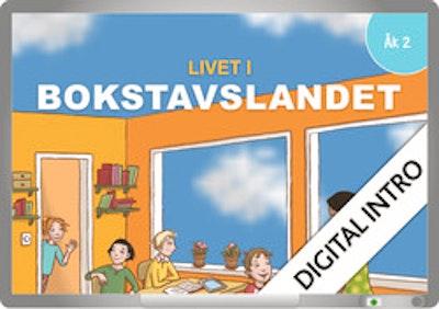 Livet i Bokstavslandet 2 Digital intro 12 mån
