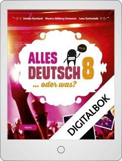 Alles Deutsch 8 Onlinebok Grupplicens 12 mån