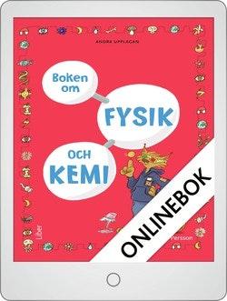 Boken om Fysik och Kemi Onlinebok Grupplicens 12 mån