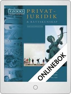 J2000 Privatjuridik och rättskunskap Fakta och uppgifter Onlinebok Grupplicens 12 mån
