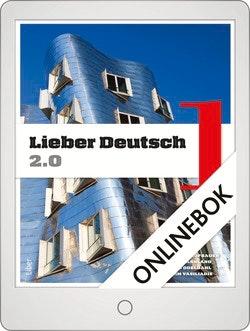 Lieber Deutsch 1 2.0 Onlinebok Grupplicens 12 mån