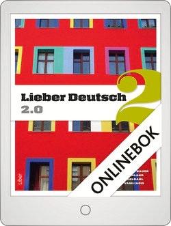 Lieber Deutsch 2 2.0 Onlinebok Grupplicens 12 mån