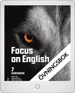 Focus on English 7 Workbook Digital övningsbok Grupplicens 12 mån