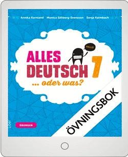 Alles Deutsch 7 Digital övningsbok Grupplicens 12 mån