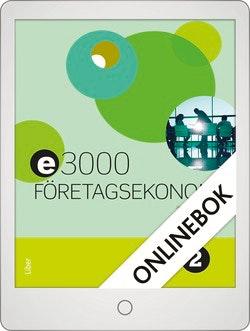 E3000 Företagsekonomi 2 Faktabok Onlinebok Grupplicens 12 mån