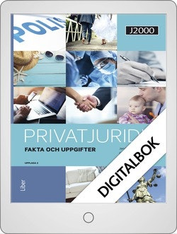 J2000 Privatjuridik Fakta och uppgifter Onlinebok Grupplicens 12 mån