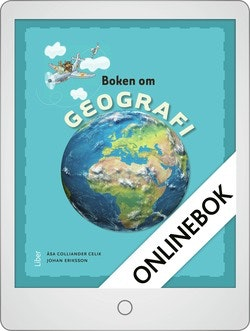 Boken om geografi Onlinebok Grupplicens 12 mån