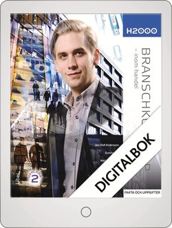 H2000 Branschkunskap Fakta och uppgifter Digitalbok Grupplicens 12 mån