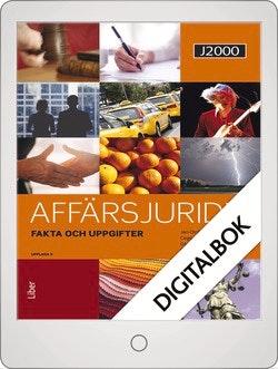 J2000 Affärsjuridik Fakta och uppgifter Digitalbok Grupplicens 12 mån