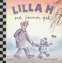 Lilla H och farmor grå