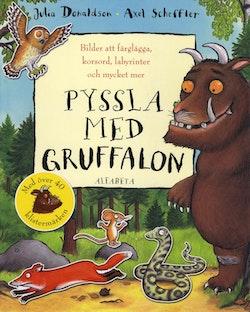 Pyssla med Gruffalon : bilder att färglägga, korsord, labyrinter och mycket